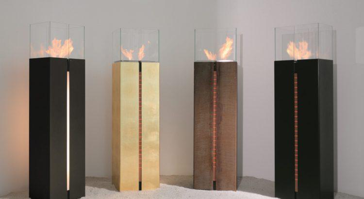 Design Objekte Ethanol befeuert